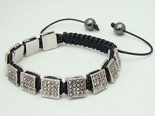 Shamballa bracelet all 10mm  Zinc Alloy  beads with hematite rhinestone