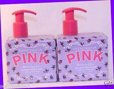 2 Victoria's Secret PINK ~ CHARMING & FUN ~ Supersoft Body Lotion Freesia & Plum