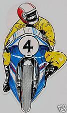 Motorrad Aufkleber Sticker Rennsport