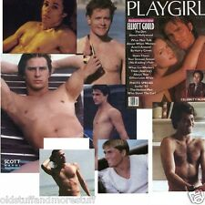 PLAYGIRL 7-82 ELLIOT GOULD SURFERS HAIRY HUNKS LEON KENNEDY JULY 1982