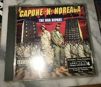 The War Report by Capone-N-Noreaga (CD, Jun-1997, Penalty Recordings). Shipped w