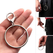 1pc Street Big Ring Key Chain Rock Punk Trousers Hipster Pant HipHop  ZB