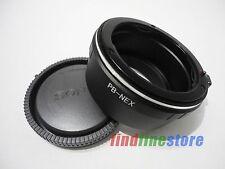 Praktica PB P B Lens to Sony E NEX 3 NEX 7 NEX C3 5N a7 a7R a6000 adapter + CAP