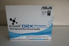 Asus Xonar D2X DOLBY 7.1 / DTS / PCI-E SOUND CARD