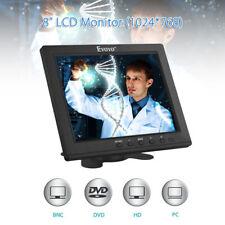 """Eyoyo 8"""" HDMI-Monitor unterstützt VGA BNC AV Ypbpr Eingang für PC CCTV Camcorder"""