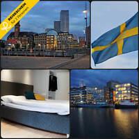 4 Tage 2P Malmö Schweden 3★ Hotel Zentrum Kurzurlaub Hotelgutschein Reiseschein