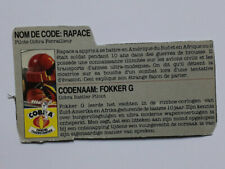 Gi Joe Action Force Arah Wild Weasel Rapace French Fokker G Dutch File Card Lot