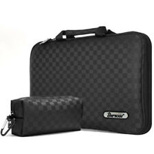 "Burnoaa 15.1"" Laptop Notebook Case Sleeve Memory Foam Bag Checked (A4M)"
