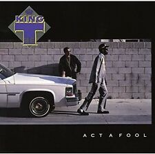Act a Fool by King Tee (CD, Jan-2016)