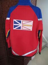 Men's Running Room Fit wear Light Jacket NEWFOUNDLAND EDITION Big Flag Logo XL
