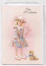 NEUF CARTE SAINTE CATHERINE + ENVELOPPE !! 10 CARTES ACHETEES = PORT GRATUIT