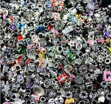 Wholesale 5pcs Lots Mixed Tibetan Silver Charm Beads Fit Bracelet gt2