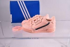 adidas Originals Toddler Kid's Continental 80 Pull-On Sneakers F97523 Orange