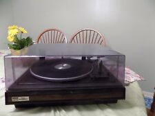 Vintage BSR McDonald Professional Turntable Model 25 CX & dustcover Nice & Clean
