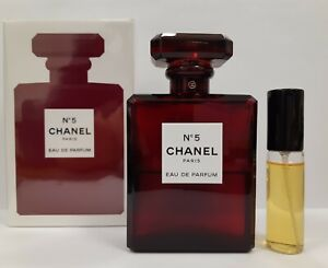 CHANEL №5 edp Limited Edition RED Bottle 10 ml. SAMPLE