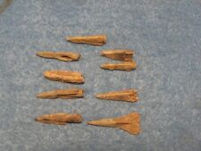 Wonderful RARE Lot of ( 9) Bronze arrows 3rd to 1st Cent. B.C.