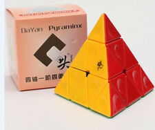 Dayan Speed Pyramind II Pyraminx Triangle Odd Shape 2 Magic Cube Stickerless