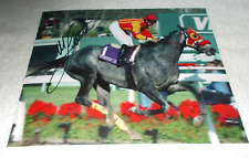 MIKE SMITH SKIP AWAY 1997 BREEDER'S CUP CLASSIC SIGNED 8x10 HORSE RACING PHOTO