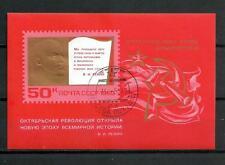 Célébrités URSS (10) bloc oblitéré