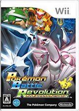 Used Game Wii Nintendo Pokemon Battle Revolution *JAPAN VER.