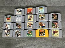 Nintendo 64 N64 Games - Cartridge Only - **AUTHENTIC - TESTED - CLEANED**