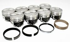 "Sealed Power Ford 289 302 4.000"" Flat Top Pistons & Moly Rings Kit SBF H273CP"