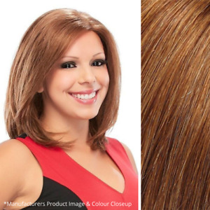 Imperfect Jon Renau Courage Wig - Hand Tied- Lace - Human Hair - Color FS12/26RN