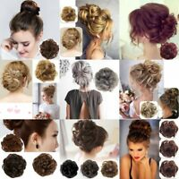 Curly Messy Hair Flexible Scrunchie Wrap Wave Curly Hair Bun Ponytail Hairpiece