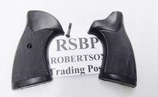 Ruger Security Six Service 6 Sile Target Rubber Grips Square Butt RSBP