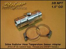 Inline Radiator Hose Temperature Sensor Adapter 3/8 NPT
