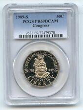 1989 S 50C Congressional Commemorative PCGS PR69DCAM