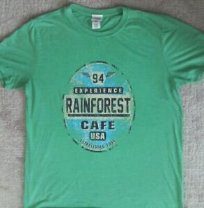Vintage Rainforest Cafe T Shirt _ Size Large