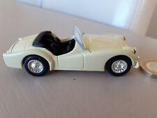 1:43 Corgi Scale Model Pale Yellow Triumph TR3A Diecast Car Perfect Condition