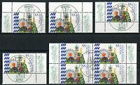 Bund 2950 Eckrand oder Viererblock gestempelt Vollstempel Berlin ETSST BRD 2012