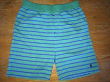 JOULES Surfer Shorts Soft Jersey Striped Age 9-10 & 11 - 12Free UK P&P