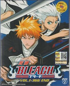 Anime DVD Bleach Complete Series Vol.1-366 End English Subtitle