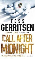 TESS GERRITSEN __ CALL AFTER MITTERNACHT ___ ___ 'A' FORMAT ___ WERBEANTWORT