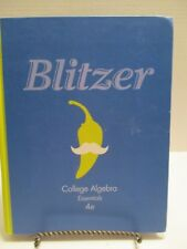 Blitzer College Algebra Essentials 4e 2014 4th Edition Book ISBN 9780321833655
