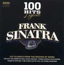 FRANK SINATRA - 100 HITS - LEGENDS - 5 CDS - NEW!!