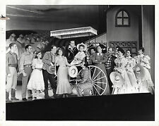 "Rodgers & Hammerstein ""OKLAHOMA!"" Alfred Drake / Original Cast 1944 Press Photo"