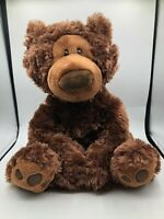 Official Gund Brown Philbin Chocolate Teddy Bear Plush Soft Stuffed Toy Animal
