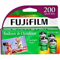 8 Rolls Fujifilm CA 200 ASA 24 Exp 4 Pack 35mm Color Film (2 x 4 Pk)