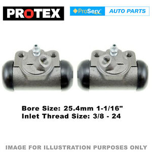 2x Rear wheel cylinders for Ford F150 V8 1990 - 1992