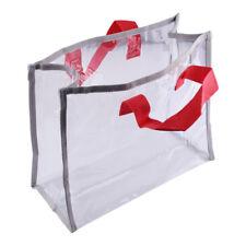 Women's PVC Clear Handbag Shopping Tote Bag Purse Beach Shoulder Bag Trendy