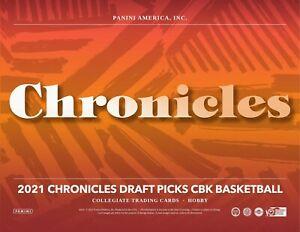 🏀 2021-22 Panini Chronicles Draft Picks Basketball Hobby Box FREE SHIP SEALED