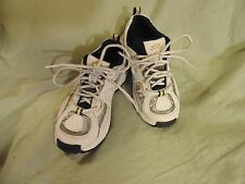 Stride rite Jungle Gym Lace size 12 W Childs Leather upper sneaker White