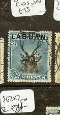 LABUAN (P2907B) 2C  DEER  SG63  SON  CDS VFU