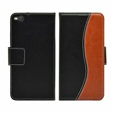 Membrane HTC One X9 Black Brown Case Flip Cover Wallet S-Line stand card slot
