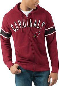 G-III Sports Arizona Cardinals Men's Hands High Arena Full Zip Hoody Sweatshirt