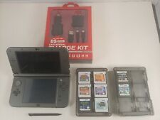 Nintendo New 3DS XL 16 GB Handheld System - Black + Pokemon Sun & Moon + 6 Games